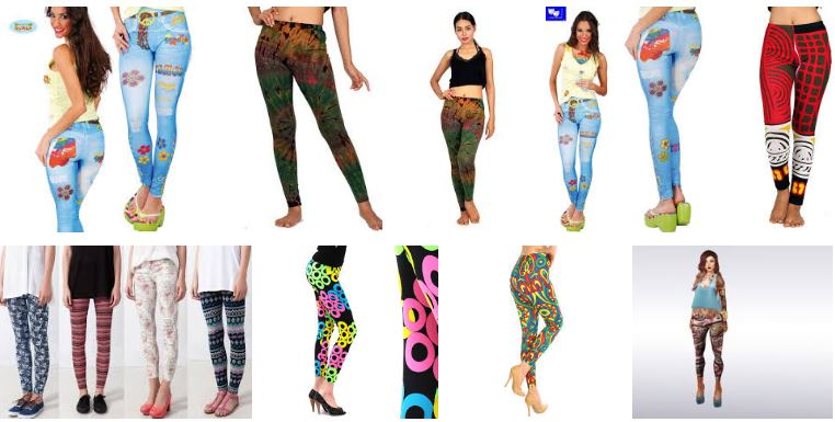Mujeres con leggins