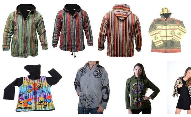 Abrigos hippies online