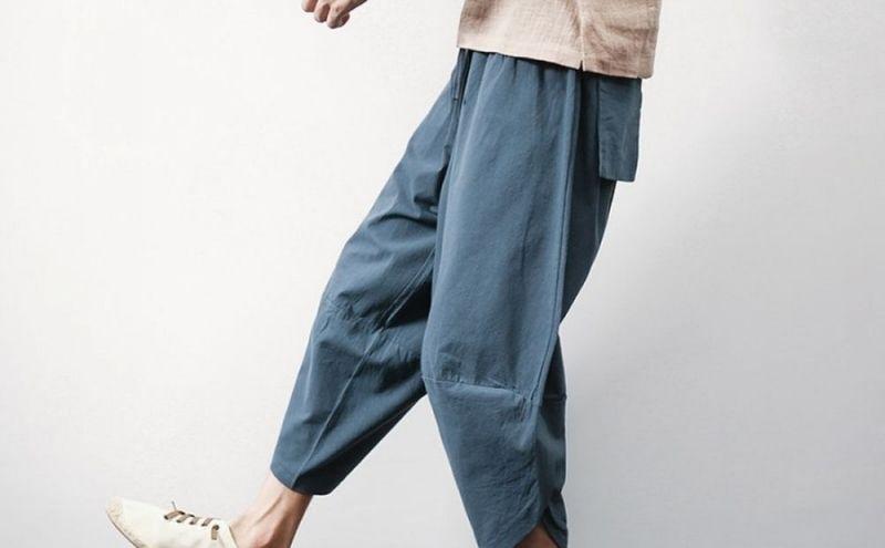 Pantalón corto hippie