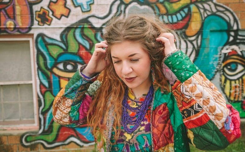 Sudadera hippie
