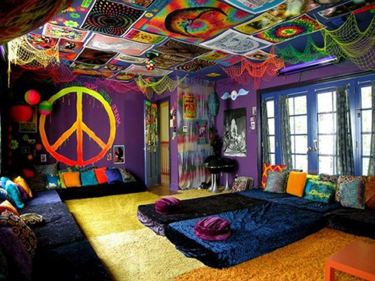 Habitaciones Y Dormitorios Hippies Ideas Originales Y