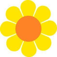 flor amarilla hippie
