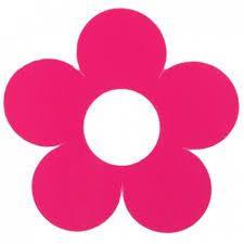 flor rosa hippie