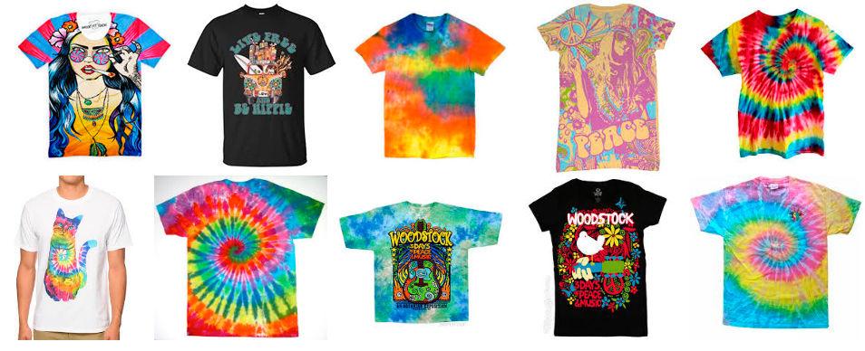 modelos de camisetas hippies