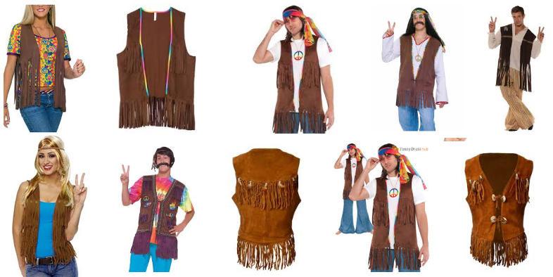 modelos de chalecos hippies