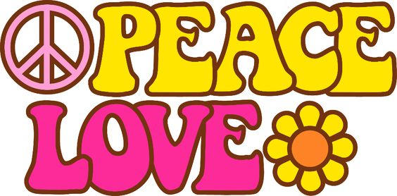 paz y amor flor