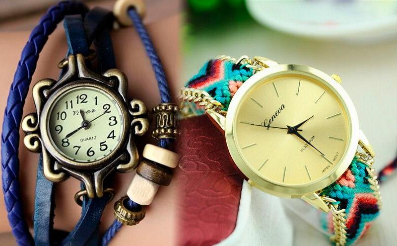 relojes hippies